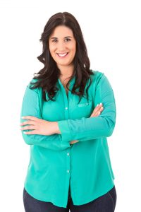 Beautiful large woman posing isolated over a white background